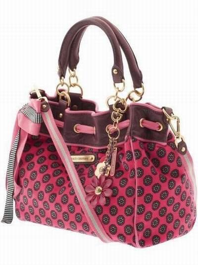 Sac a main juicy couture sac juicy couture rose - Couture sac a main ...